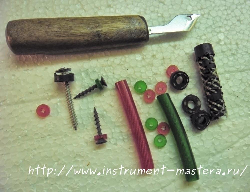 Шайбы и прокладки из подручных материалов