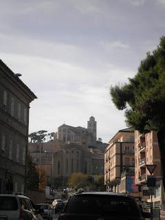 Arriving in Fermo