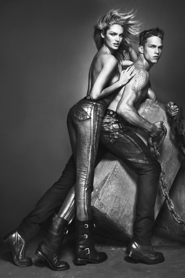models Candice Swanepoel & Dmitriy Tanner photos