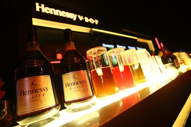 Hennessy Apple, Hennessy Berry, Hennessy Ginger and Hennessy Soda