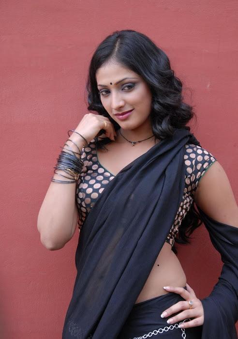 hari priya new saree hot photoshoot
