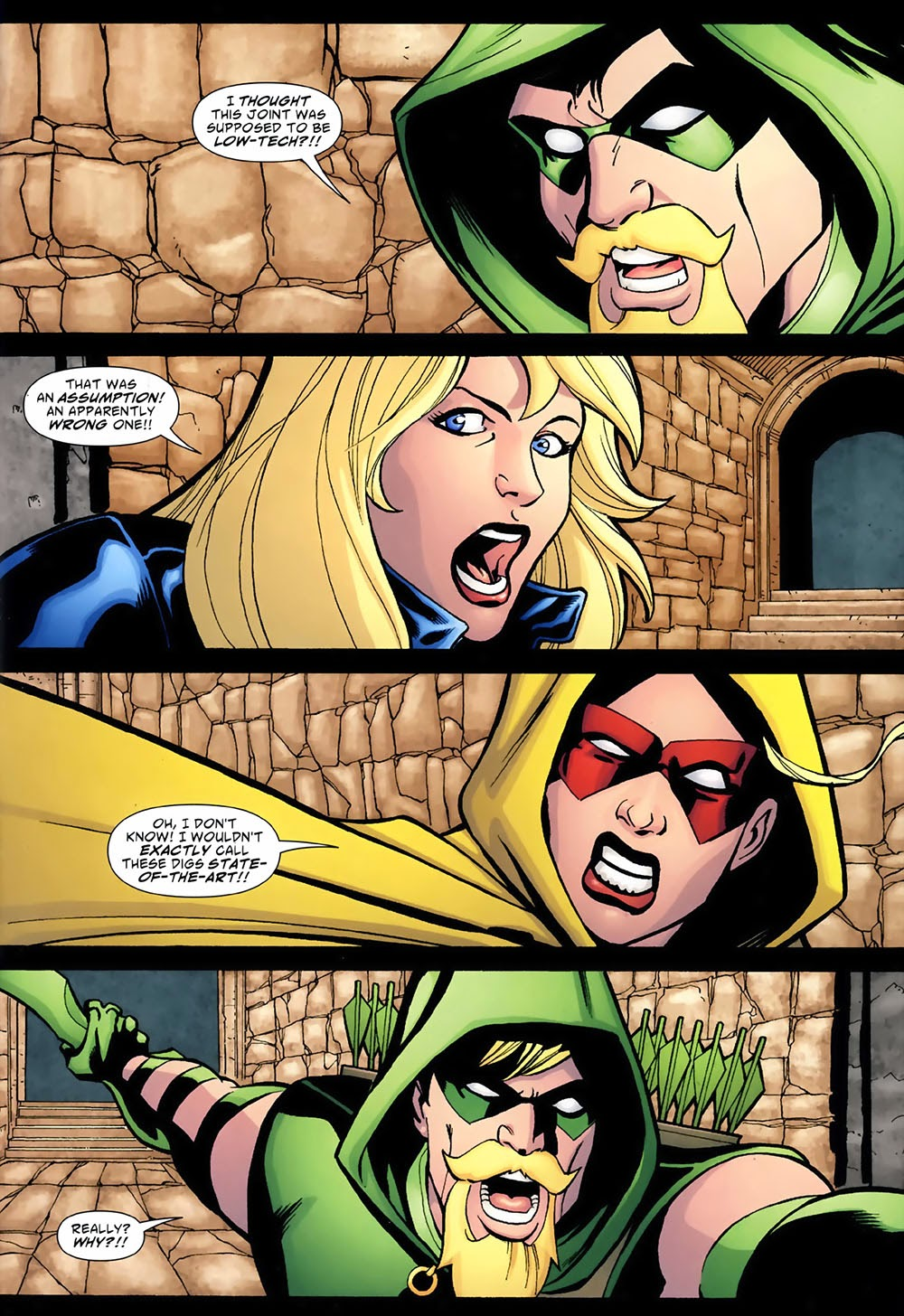 Black canary and green arrow divorce