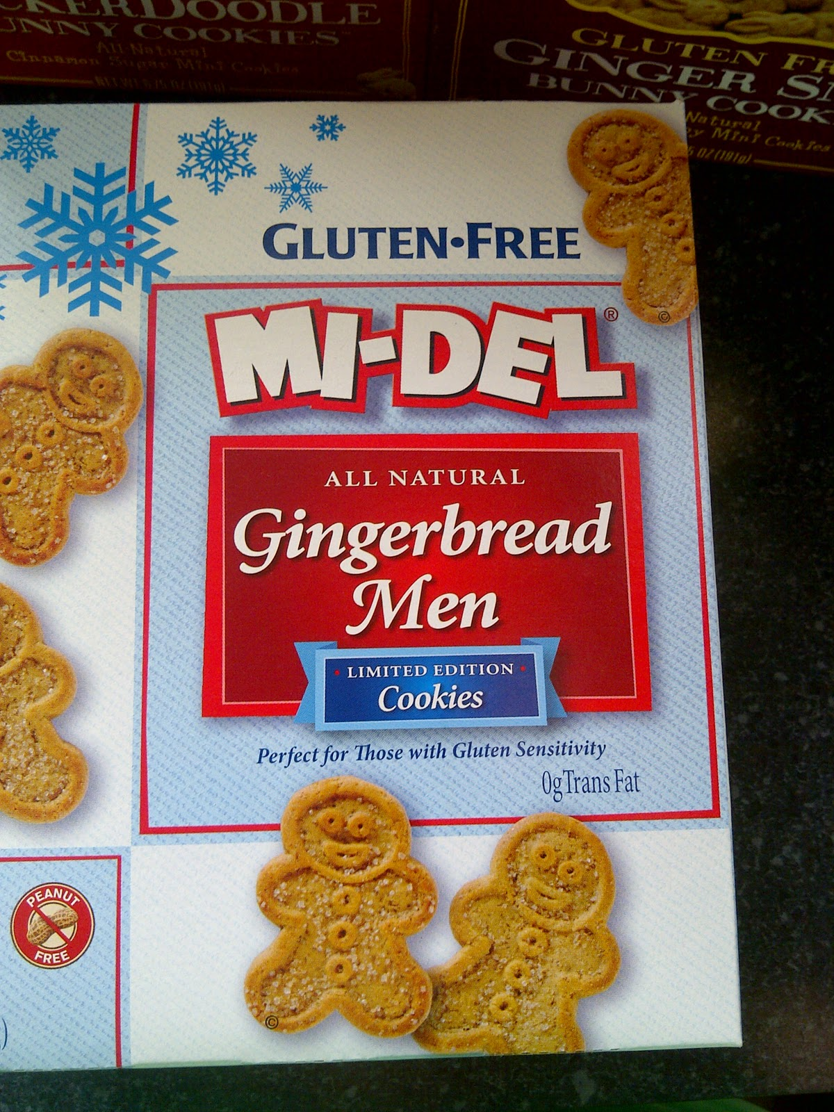 Gluten Free Gingerbread Men!! Adorable!!