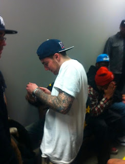 Mac Miller Backstage Pittsburgh