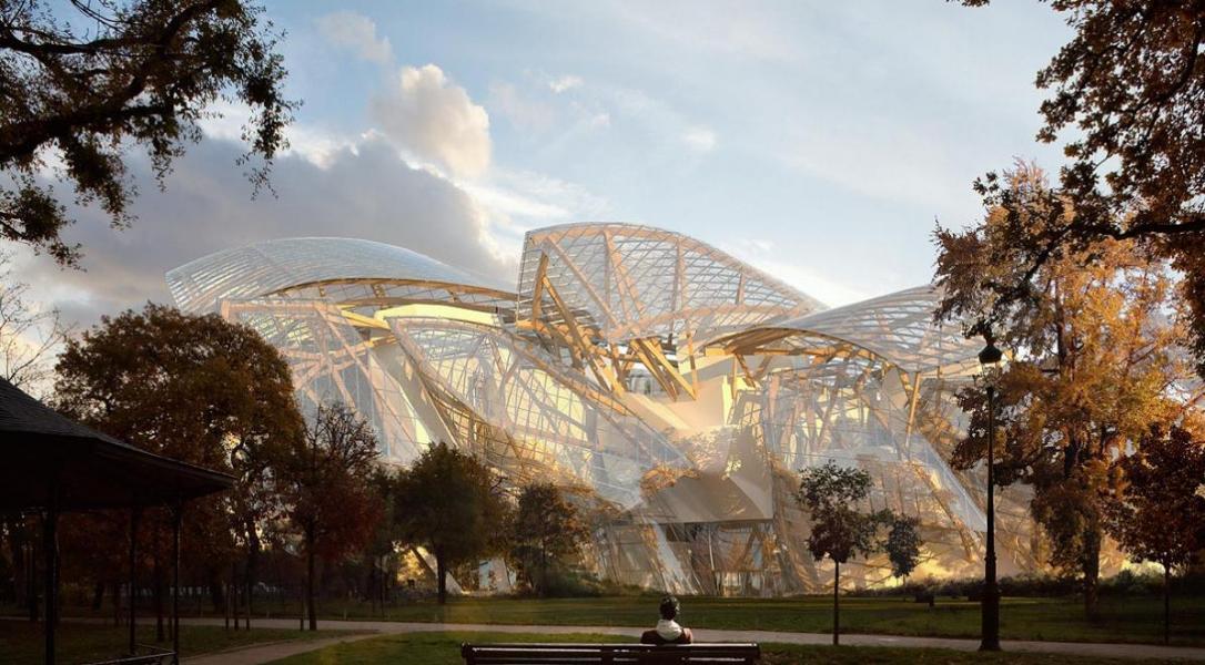 Roc2c paris louis vuitton foundation for creation for Art jardin creation