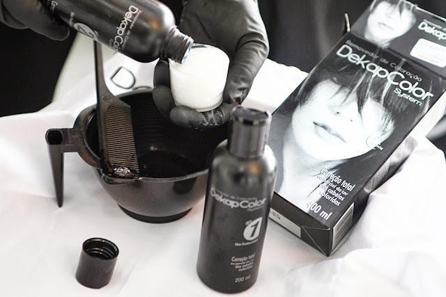 Dekapcolor: removedor de coloração dos cabelos
