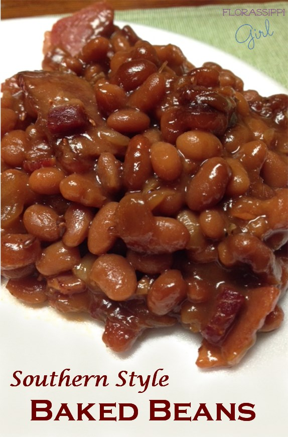 Florassippi Girl: Southern Style Baked Beans