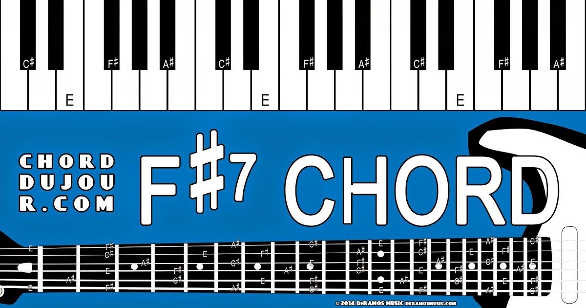 Chord Du Jour Dictionary F7 Chord