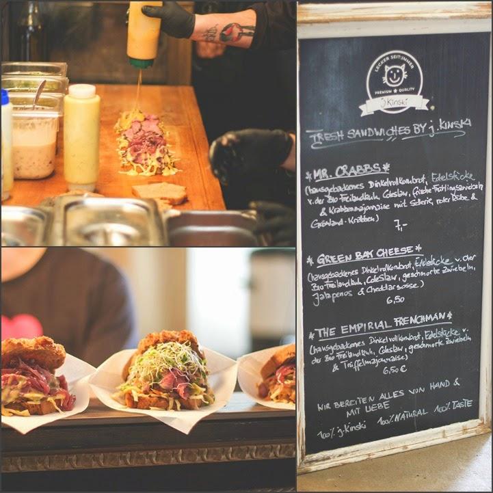 köstliche Sandwiches von J. Kinski aus Thüringen: Bio-Rindfleisch, hausgebackenes Dinkelvollkornbrot
