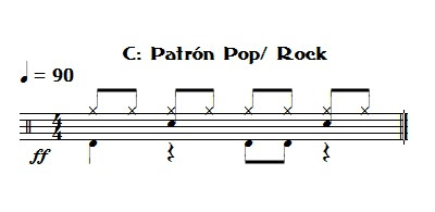 patron pop/rock