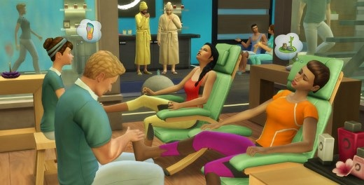 The Sims 4: Spa Day Addon [RELOADED] Screenshot 1