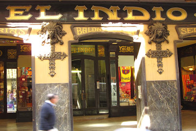 El Indio is a popular store in El Raval