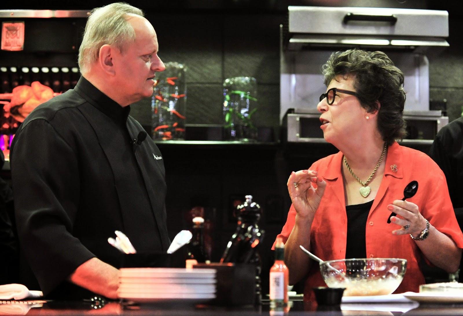 2014 Vegas UnCork'd Joel Robuchon Cooking demo L'Atelier de Joel Robuchon