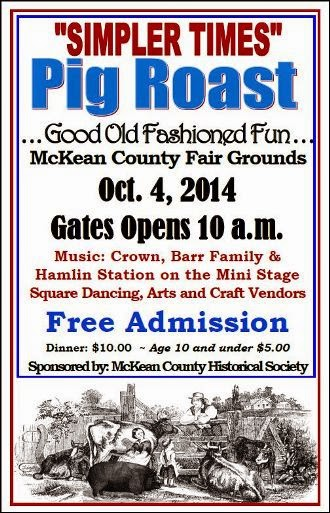 10-4 Pig Roast, Fairgrounds