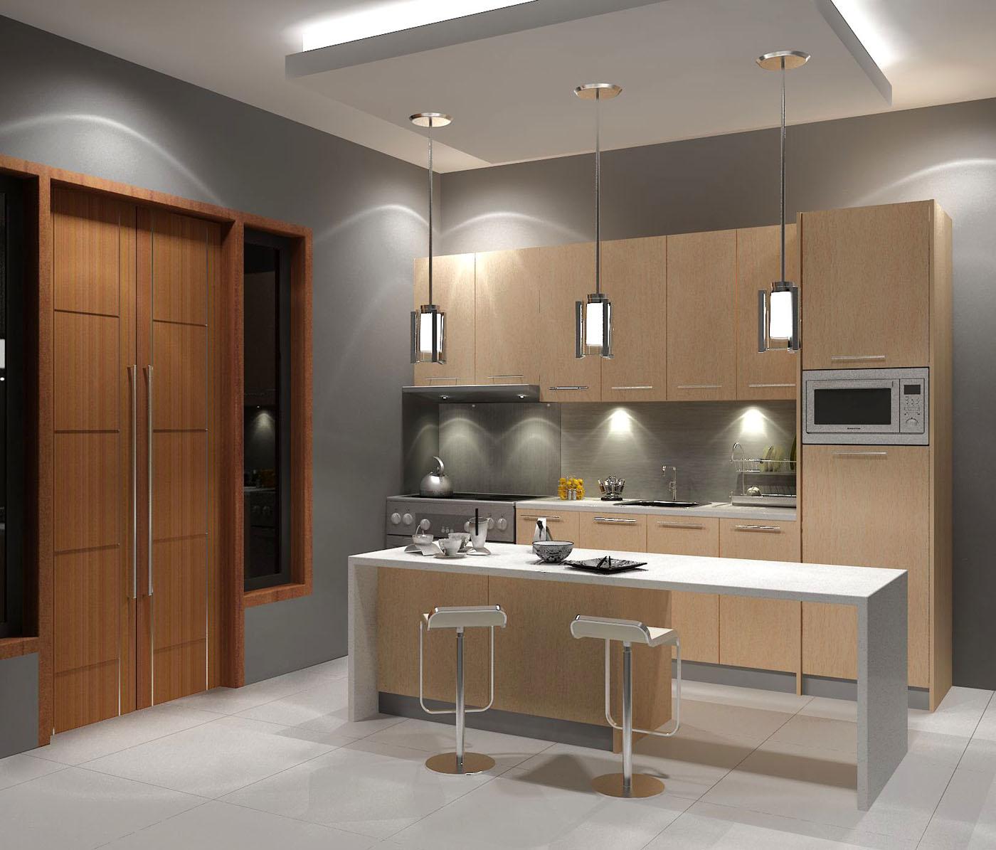 desain dapur gambar 1 kolom desain gambar desain