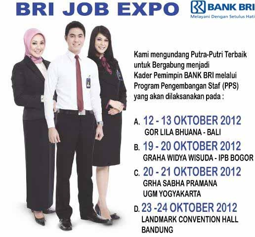 Lowongan Kerja 2012 Bank BRI . Only short-listed candidates will be