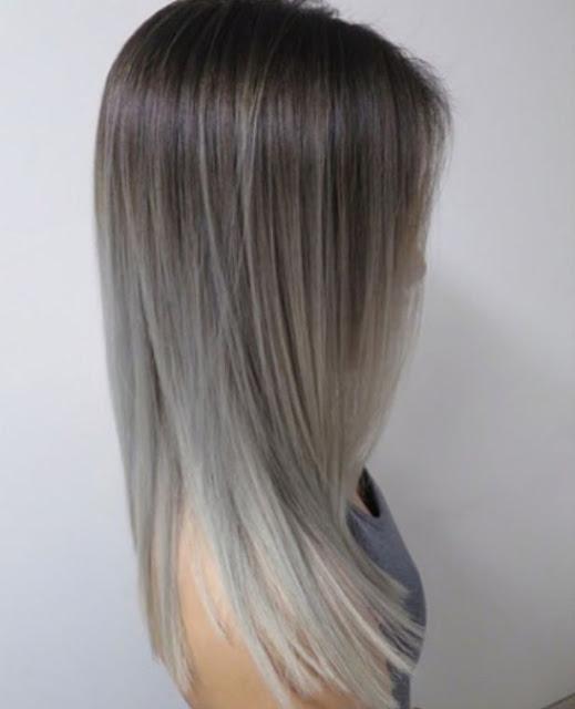Модно красит волосы