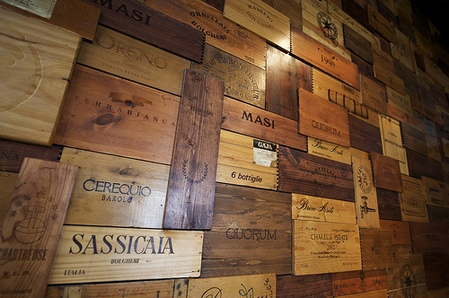 Wooden Wine Boxes, Custom Crates & Wine Panels
