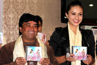 Nisha Adhikari in music album release of Padmini.