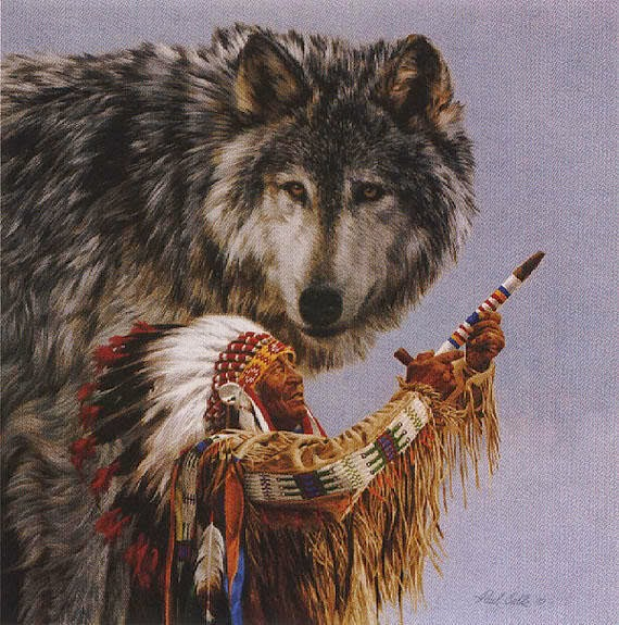 White Wolf Legend Of The Wolf Native American Wolf Legend