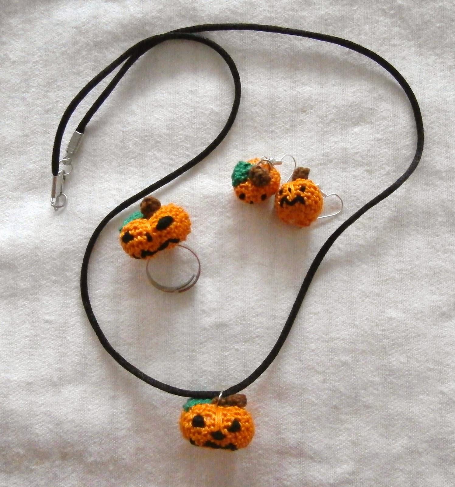 Artmorixe - Labores y manualidades: Conjunto calabacitas Halloween ...