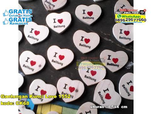 Gantungan Kunci Love 1552 murah