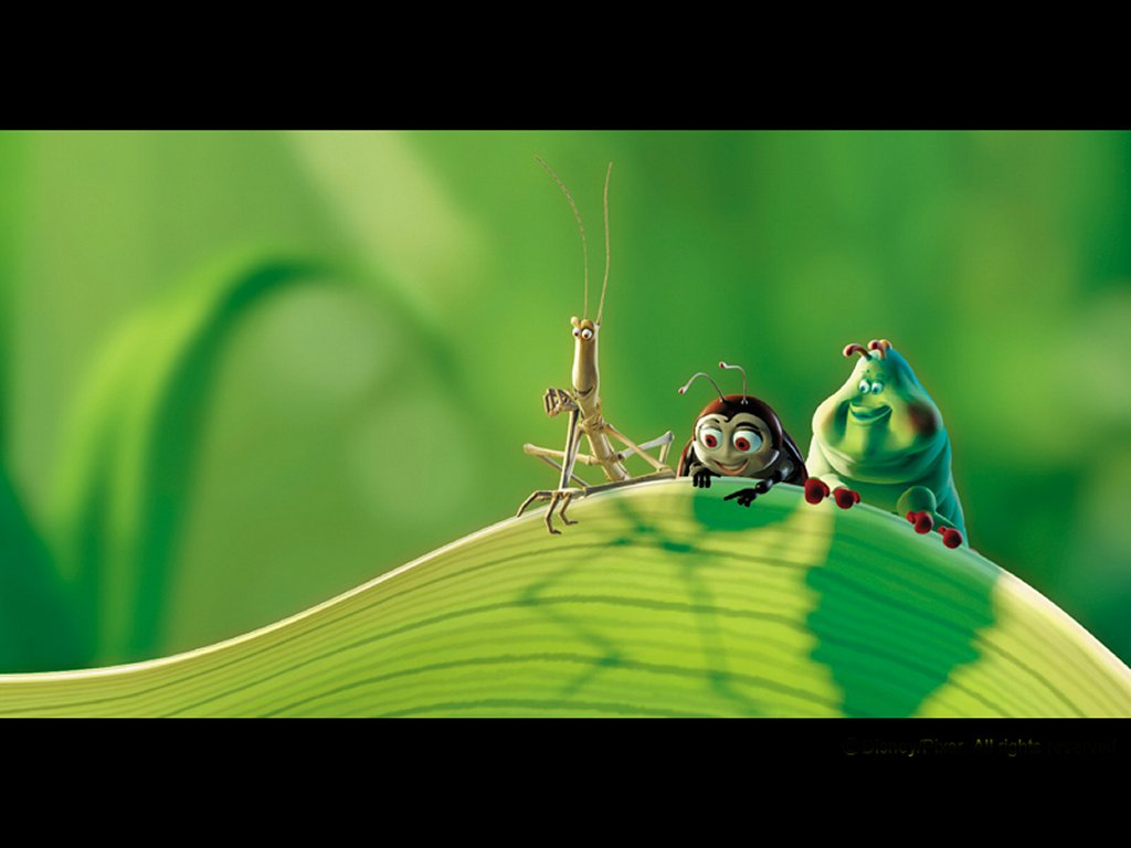 Some bugs in A Bug's Life disneyjuniorblog.blogspot.com