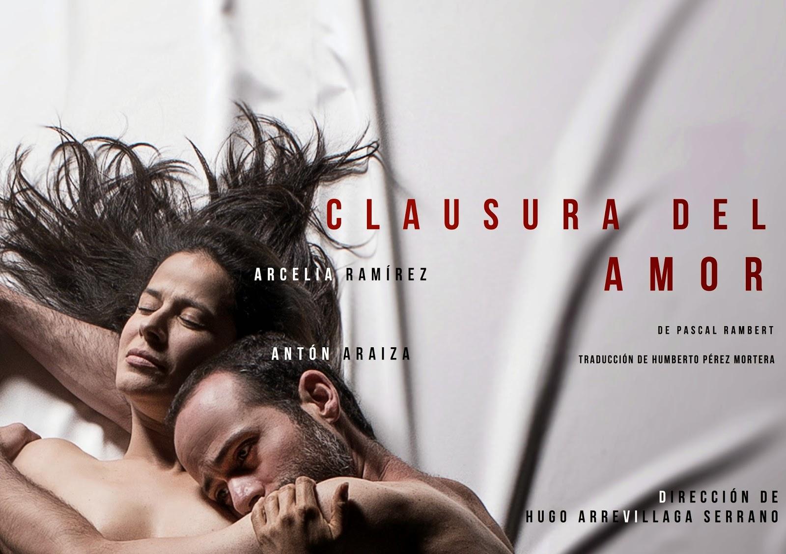 """Corta temporada de """"Clausura del amor"""" en el Teatro El Granero"""