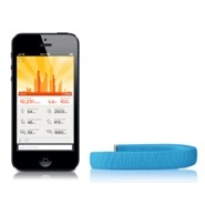 Bracciale UP di Jawbone per iPhone, iPad e iPod touch