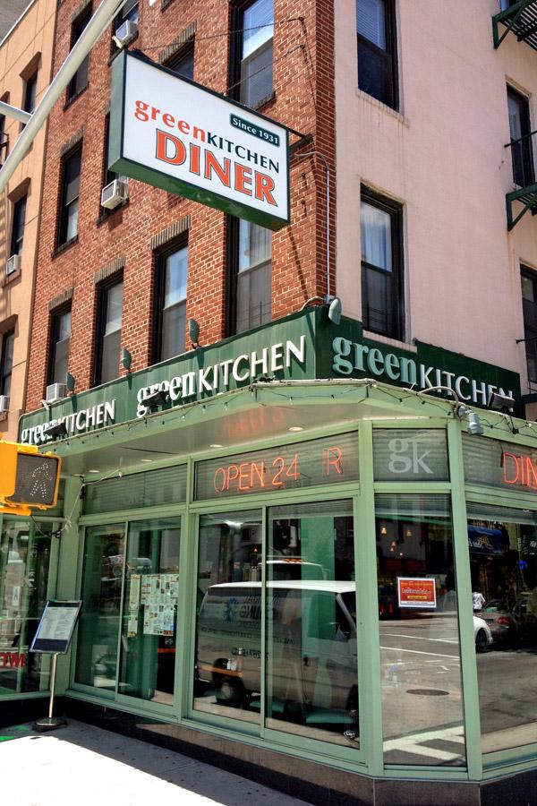 Green Kitchen Diner