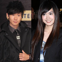 JJ Lin and Weng Tzy Mann