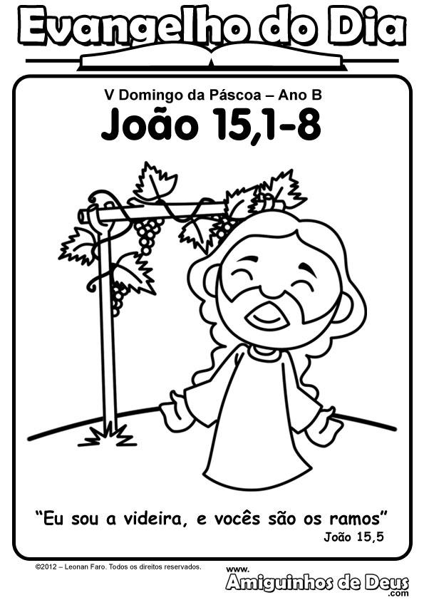Jesus é a videira