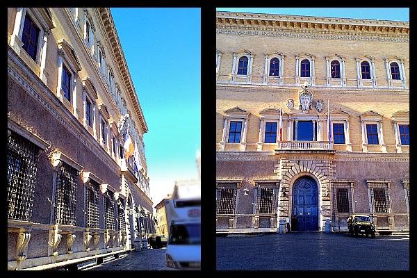 Palazzo Farnese w Rzymie