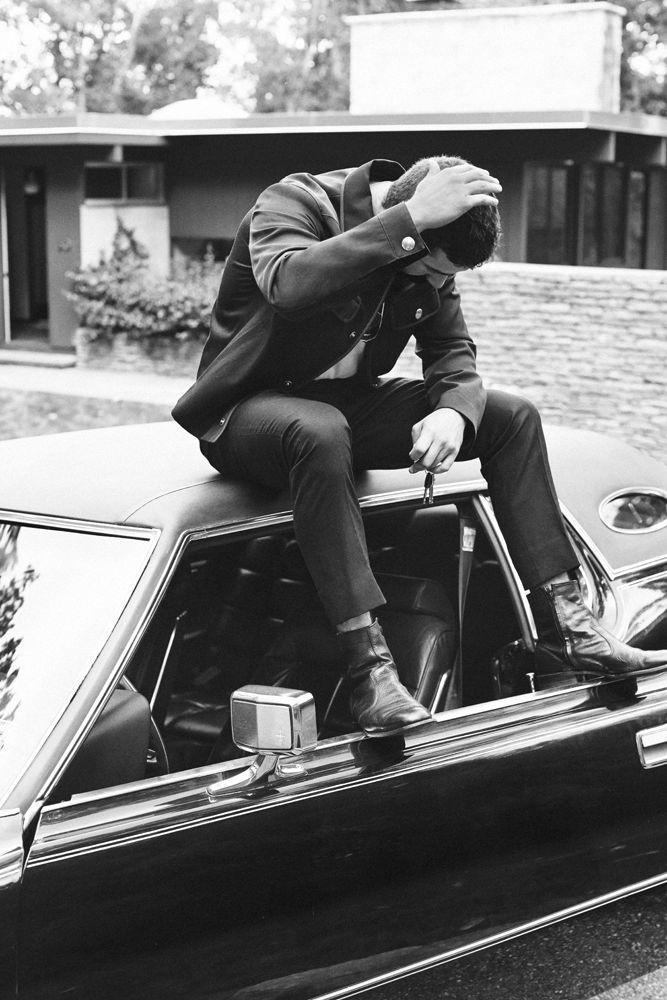 photo of Craig McDean  - car