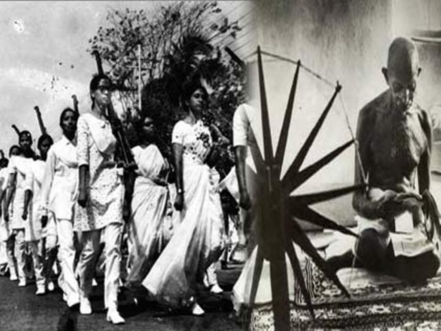 indian independence movement and gandhi