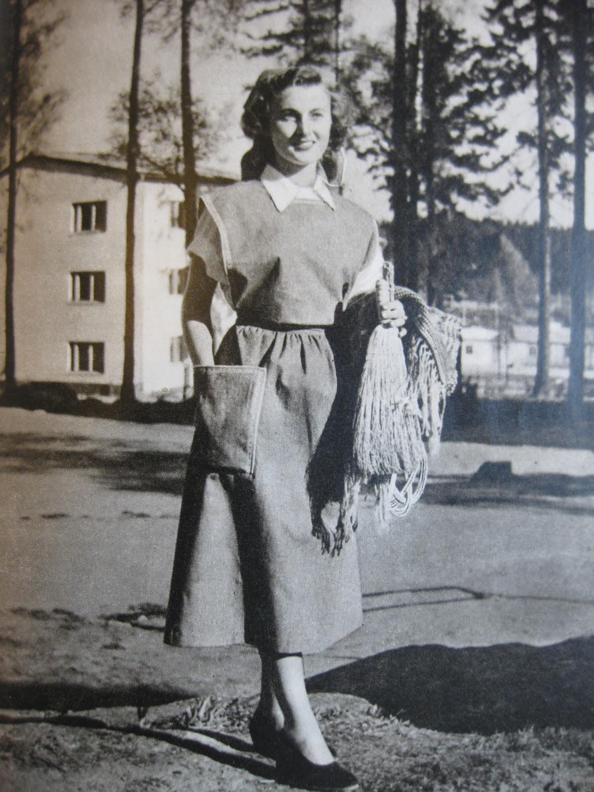 40-luvun työasu