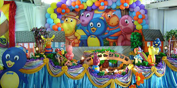 DECORACION FIESTA INFANTIL BACKYARDIGANS PARTY