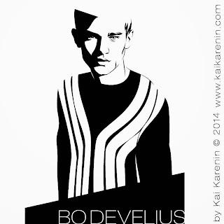 Bo Develius by Kai Karenin, vector illustration