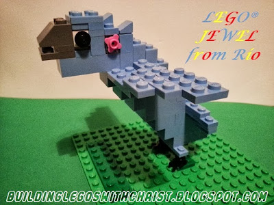 LEGO Creation of  Jewel from the movie Rio, Jewel, Rio