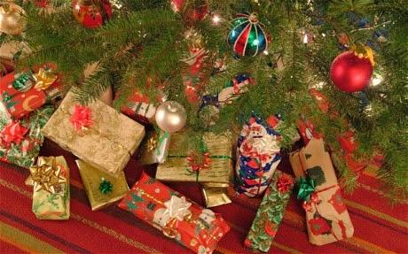 Ajudinha com contas de Natal