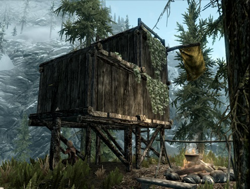 Skyrim house building mod ps3