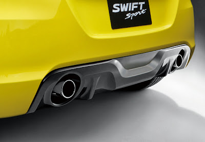 EKSTERIOR NEW SWIFT SPORT
