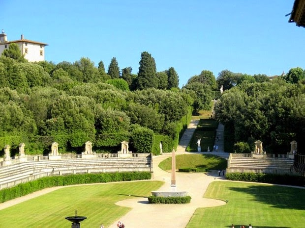 World's most beautiful gardens - Boboli Gardens, Italy