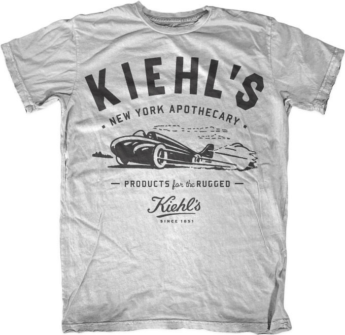 T Shirt Design York: Upkeep The Ape: KIEHL'S Vintage T-shirts By Neighborhood