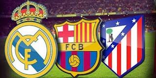 Barca dan Madrid Imbang, Atletico Puncaki Klasemen