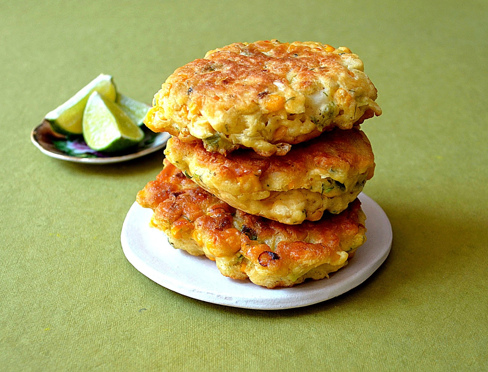 Jilly...Inspired : Thai-Inspired Corn Fritters ~ A little ...