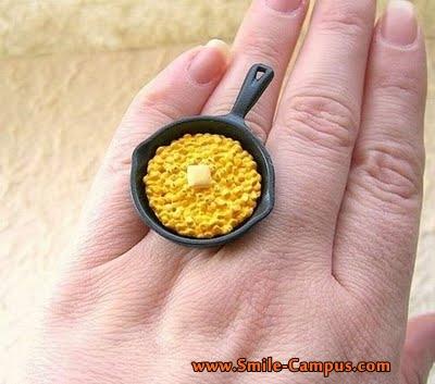 Beautiful Food Rings Photos
