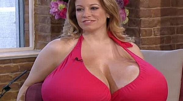 very big breast