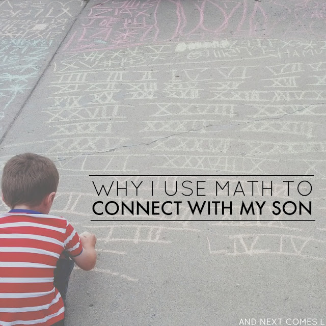 Why I use math to connect with my son who has autism from And Next Comes L