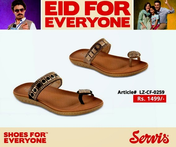 Servis - Eid Shoes Collection 2014 for Women